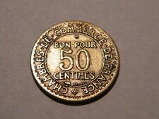 Monnaie / Pièce de  50 centimes 1922 Chambre Commerce