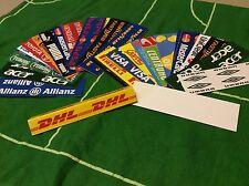 40 Subbuteo Pubblicità bordo campo per stadio - Advertising board - Spare Lotto