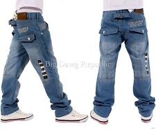 Peviani Hombre Niño Rawclif Corte Recto Azul Jeans Negros Is Time Money