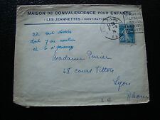 FRANCE - enveloppe 1924 (cy10) - french