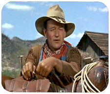 JOHN WAYNE MOUSE PAD 1/4 IN. MOVIE TV MOUSEPAD RETRO VINTAGE HOLLYWOOD