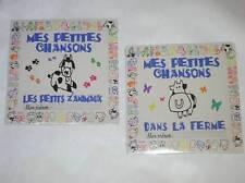 LOT 2 CD / MES PETITES CHANSONS / PETITS ANIMAUX + LA FERME / NEUF SOUS CELLO