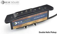K&k Double Helix Rosace Pickup pour guitares acoustiques nouveau modèle/UK Stock