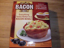 New Perfect Bacon Bowl As Seen On Tv Oven Toaster Microwave 8 pc Dishwasher Safe