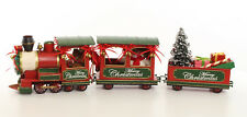 Nostalgie Train de Noël Chemin de Fer Rétro Joyeux Noël Décoration de Noël Lok