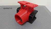 Milwaukee M18 tool & Battery holder mount bracket storage 18v Drill Impact RED