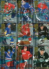 1994/95 Pinnacle Team Pinnacle Complete 12 Card Set Gretzkey Lemieux Messier