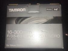 Tamron 16-300mm f/3.5-6.3 Di II VC PZD MACRO Lens B016 Nikon F Mount