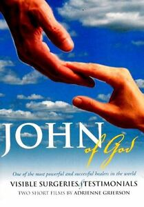 NEW DVD John of God Brazil – Visible Surgeries & Testimonials 2 Short Films