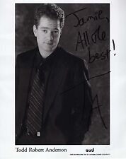 TODD R ANDERSON - Signed 10x8 Photograph - DIRECTOR - REPLI KATE