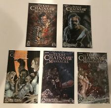 LOT OF 5 TEXAS CHAIN SAW MASSACRE THE GRIND #1-3 SET + SPECIALS (TERROR) AVATAR