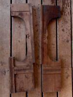 Wood Architectural Salvage Pediment Farmhouse Cabin Loft Decor for Repurpose