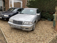 Mercedes 1998 c180 auto w202, c class (1owner) long MOT