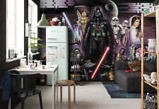 Giant Wall mural photo Wallpaper 366x254cm Star Wars Darth Vader Collage