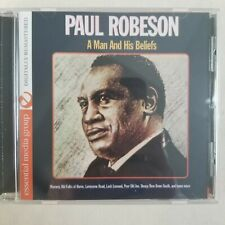 Paul Robeson: A Man and His Beliefs [Digitally Remastered CD) *Mint*