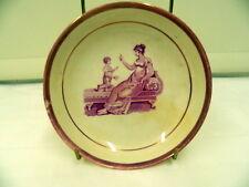 19 th Century Deep Saucer circa 1830