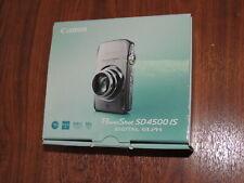 Open Box - Canon PowerShot SD4500 10.0MP Camera - SILVER - 013803131444