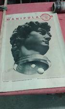 rivista giornale photo magazine  vintage the manipulator david 1991 by fritz kok