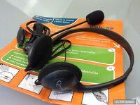 Gembird VoIP Headset, Kopfhörer mit Mikrofon, Schwarz, Home-Office, NEU, OVP