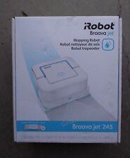 *Nib* iRobot Braava Mop Jet 245 Mopping Robot w/6 Pads B245020 Free/Fast Ship!
