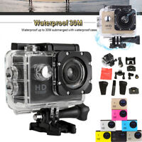 1080P Full HD Waterproof Sports DV Video Action Camera Camcorder DV DVR Cam HDMI