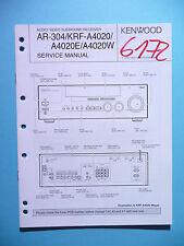 Service Manual-Anleitung für Kenwood AR-304/KRF-A4020 ,ORIGINAL