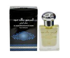 BLACK OUDH ATTAR PERFUME OIL 15ML BY AL HARAMAIN