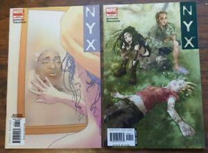 NYX Issues #6 & 7 🌟 Marvel Comics 2005 X-23!
