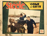 "COME AND GET IT Original 11"" X 14"" Lobby Card - 1929 - BOB STEELE"