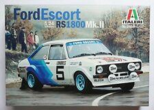 Ford Escort Mkii #5 Monte Carlo 1979 Plastic Kit 1:24 Model 3655 ITALERI