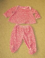 Betsey Johnson Pink Leopard Outfit Girls Size 3-6 Months