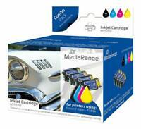 MEDIARANGE MRET89 Cartucce inchiostro per Epson® Serie T0891 - T0894, con chip,
