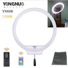 Yongnuo YN608 5500K Wireless Ring SMD LED Light For Portrait Macro Selfie