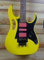 New Ibanez JEMJR SP Steve Vai Signature Electric Guitar Yellow