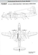 Foxbot Decals 1/72 DOUGLAS A-20 BOSTON STENCILS