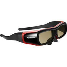 NIB Panasonic TY-EW3D2SU ACTIVE Shutter 3D Glasses Eyewear Small 2nd Gen Red NEW