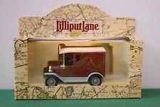 """Lilliput Lane """"Tenth Anniversary Van"""" New - Mint in original box"""