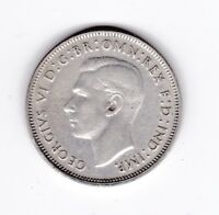 1941 Florin Australia Sterling Silver Coin C-173