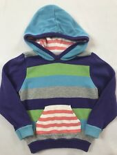 Cute Hanna Andersson Size 100 Multi-Colored Striped Knit Sweater Sweatshirt