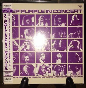 DEEP PURPLE- In Concert, Japan MINI LP 2 CD w/OBI VPCK-85316 Rare OOP Pristine