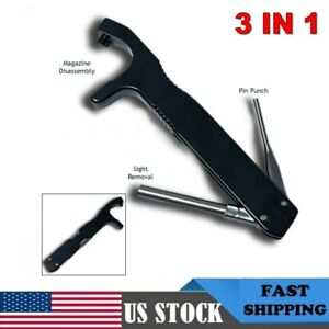 3 in 1 Cambo Glock Front Sight Tool Magazine Disassembly Tool Pin Punch Adapter