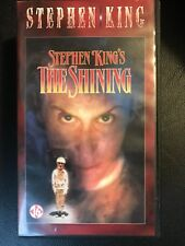 The Shining Horror Vintage Double Box VHS Tape English dutch with subs Sealed