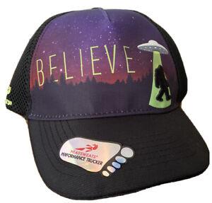 "Headsweats Performance Trucker cap hat ""Big Foot believe"""