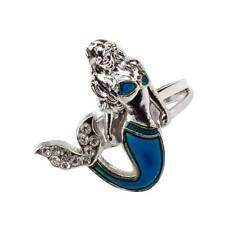 Fashion Mermaid Mood Ring Emotion Feeling Color Changing Adjustable Ring