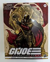 Cobra Commander Snake Supreme Deluxe Figure GI Joe Classified Hasbro Pulse RARE
