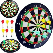 """16 """"Official Size Magnetic Dartboard With 6 Darts Included Child Kids Dart Board"""
