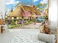 3D Spring Pastoral B52 Wallpaper Wall Mural Self-adhesive Trevor Mitchell Zoe