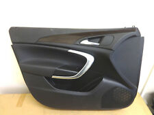 VAUXHALL INSIGNIA 2009-2013 FRONT PASSENGER SIDE LEATHER DOOR CARD WOOD TRIM