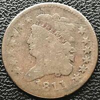 1811 Classic Head Half Cent nice coin RARE KEY DATE 1/2 Cent #5785