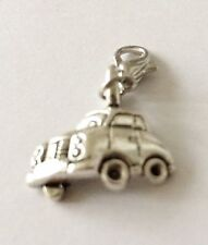 LOVELY SILVER ANTIQUE CAR CLIP ON CHARM FOR BRACELETS - TIBETAN SILVER - NEW